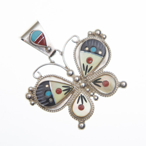Native American Butterfly Pendant #0564