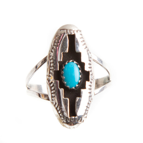 Native American Ring Size 7.25 #0721