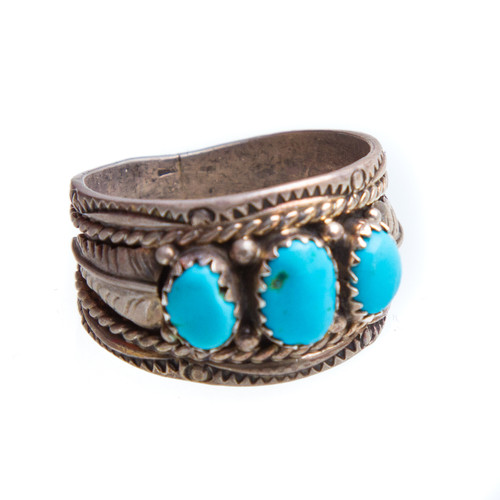 Native American Ring Size 11 #0812
