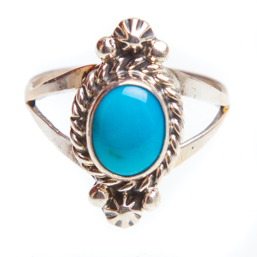 Native American RIng Size 7.75 #0833