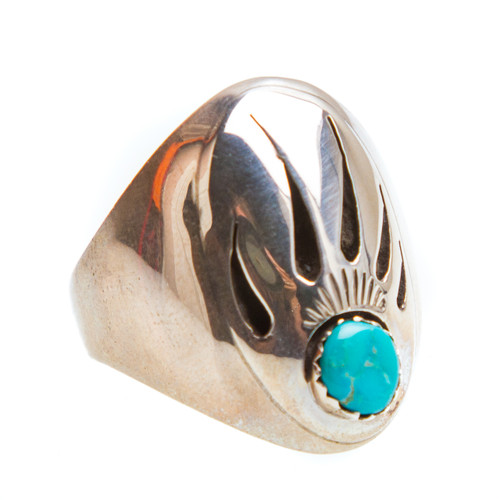 Native American Ring Size 10.75 #0813