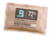 """Single Pack Uses: Humidity control, (1) Boveda 60g/25 cigars in your humidor  Merchandising: Use with Boveda Wire Retail Display Rack Cross-sell with: Boveda Metal and Wood Holders  Replace: When Boveda begins to get rigid Shelf Life in Original Packaging: 2 years Retail Carton Dimensions: 5.75""""x 3.75""""x 4.5"""" Individual Dimensions: 5.25"""" x 3.5""""WHY BOVEDA 60 GRAM FOR CIGARS? Spreads the power of Boveda throughout a humidor:  Tuck Boveda under the shelves Affix Boveda to the lid with a Boveda Metal or Wood Holder Toss Boveda among smokes WHY BOVEDA FOR PREMIUM CIGARS? NO MORE MESSING WITH:  Wet sponges PG solutions Gels Beads NO MORE HALF-WAY:  1-way humidifiers only do half the job—ADD moisture. (And can over-humidify cigars.)  NO MORE GUESSING: Boveda is precise, complete and easy cigar care.  Just toss Boveda in and watch it work Automatically adds AND absorbs moisture with Boveda's patented 2-way humidity control Prevents cigars from splitting and bloating Enhances—doesn't change—flavor and aroma WHY BOVEDA 72% RH FOR CIGARS? One of Boveda's Most Popular Products  Achieves and maintains 72% RH level, which is ideal for:  Humidors that aren't airtight Drier climates Higher altitudes Cigars with fragile wrappers, such as Cameroon and Connecticut Shade, which can handle more moisture and perform better at a higher humidity Note: Do not mix Boveda RH levels within the same humidor, and do not use Boveda in the same humidor with other humidification products. They will fight against each other and reduce the efficiency of Boveda."""