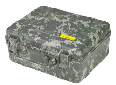 Cigar Caddy 40 Stick Travel Humidor Forest Camouflage ABS