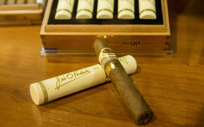 """As one of the largest boutique manufacturers in the world producing some of the highest-rated brands, Padron offers undeniable quality with each and every cigar. Padron 1926 Series 90th Anniversary is the product of this undeniable attention to detail, and continuous effort put forth by Padron. Packaged in sophisticated tubos, Padron 1926 90th Anniversary celebrates the 90th birthday of cigar legend Jose Orlando Padron.  Padron 1926 Series 90th Anniversary arrives in a 5.2""""x55 vitola with your choice of a stunning natural or maduro wrapper that conceals an exceptional blend of top-shelf flavor. Experience notes of creamy coffee, cocoa, cedar, black pepper, and earth throughout this balanced and elegant profile. Quantities are limited, so celebrate with Padron 1926 Series 90th Anniversary today.  Single Tube  buy 5 or more save 10%"""