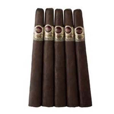 Padron 1964 Anniversary Maduro Pyramide Single cigar  The Padron 1964 Anniversary Maduro Pyramide is a unique cone shaped cigar that's wide at the foot and tapers narrow towards the head. Plain and simple, this stick is luxury in its purest form, constructed of the very finest Nicaraguan tobacco. Give this unique and flavor-packed smoke a try. Full Specifications Strength:Full Shape:Torpedo Size:6 7/8 x 52 Country:Nicaragua Color:Maduro Wrapper Origin:Nicaraguan Wrapper Leaf:Habano