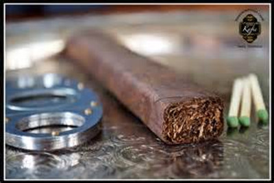 Made at Tabacalera G.Kafie y Cia  In Danli, Honduras.     Exclusively for Cigar Bundles of Miami 100% premium long filler tobacco.    Wrapper  San Andres & Ecuador Habano Blends are top secret.  Proprietary, undisclosed.    Tobacco is aged 3-4 years.  Entubado Rolled.   100% premium tobacco from Mexico, Ecuador, Nicaragua, and Honduras.  6x54 Box Press