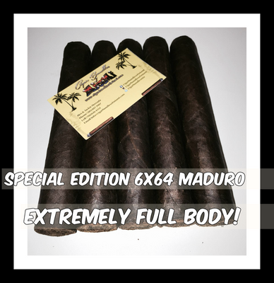 Extremely Full Body! Not for Mild Smokers!  6x64
