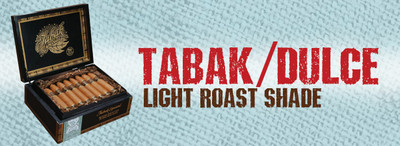 """Tabak Especial is a really special cigar that I have worked on for over 5 years. Perfecting all of the nuances that we learned in the making of Kahlua Cigars Delicioso. We present our new Coffee Infused cigar in two styles, Dulce & Negra, using the very finest Nicaraguan tobaccos & Nicaragua estate grown coffee. Tabak Especial is truly a work of art that will appeal to even the most die-hard traditionalist – smooth and easy to enjoy!""""     – Jonathan Drew  At Drew Estate, we have taken the art of blending premium cigars to new heights. Slowly infusing the ultra-rich Nicaraguan tobaccos with the finest coffee essences from the fertile lush mountains of Jinotega & Matagalapa.  Dulce"", a smoother shade grown Connecticut smoke. Tabak Especial is pure tobacco velvet on the palate with a divine aroma."