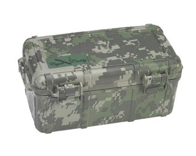 Cigar Caddy 15 stick #3540 Forest Camouflage ABS
