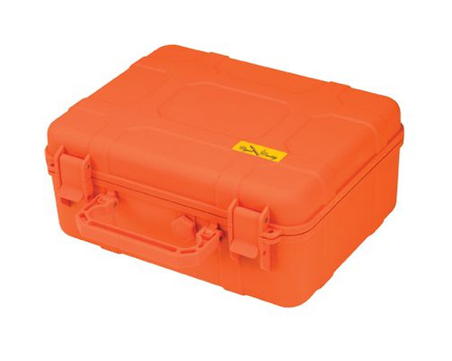 Cigar Caddy 40 Stick Travel Humidor Blaze Orange ABS
