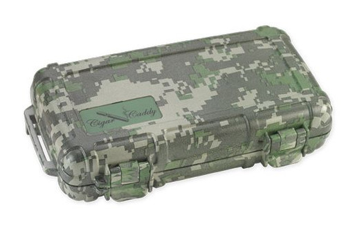 Cigar Caddy 5 stick #3400 Forest Camouflage ABS