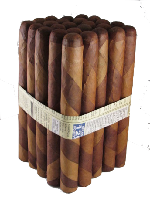 Nicaraguan Medium Bodied Premium Barber pole cigars   Hand rolled in Nicaragua!  All Air-Cured Tobacco All long filler!  Pepper,creamy, Earthy flavor that is sure to Impress!  The Double Wrapper makes this a very Interesting Smoke all the way down to the Nub!  Only 100% Premium Cuban Seed.  Get them today in a Bundle of 25    As always all our Premium Bundles are Guaranteed.  Rated 93 by our Customers just check out the reviews