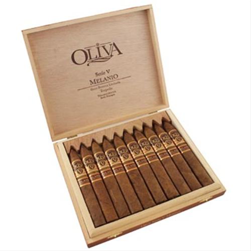Oliva Serie V Melanio Torpedo box of 10