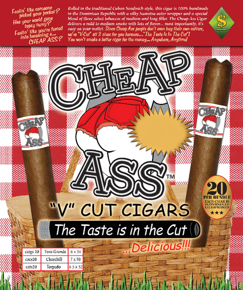 Cheap A$$ Cigars Bundle of 20