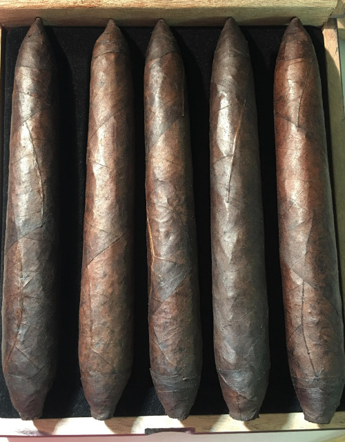 Boom! Special Blend All Nicaraguan Puro Maduro Double Ligero Spice Bomb Baby!!  This Beast is a 7 1/2 x 52 x58 of Pure Spice and Everything Naughty you want in a Cigar  All Long Filler of course!  Hand rolled!  This Special Introductory price is for 1 week only