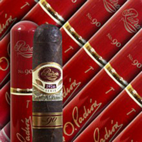 PADRON SERIE 1926 90TH ANNIVERSARY TUBO This cigar was developed in commemoration of Jose O. Padron's 75th Birthday. The development of this line was to honor his lifetime of work in the tobacco industry by creating a cigar that captures some of his favorite characteristics - a full-bodied smoke that combines complexity, balance and flavor. All the tobacco used in these cigars have been aged for 5 years, and each band is embossed with a serial number. If you can get your hands on a box or even a single cigar, by all means, do so.  FULL SPECIFICATIONS Strength: Full Shape: Churchill Size: 6 x 46 Country: Nicaragua Color: Maduro Wrapper Origin: Nicaraguan Wrapper Leaf: Habano