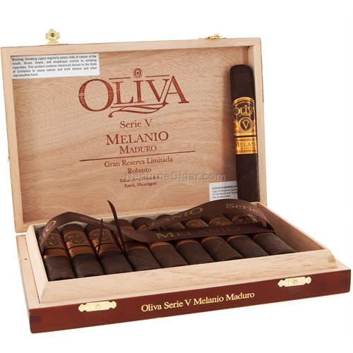 Oliva Serie V Melanio Maduro Robusto 5x52 box of 10
