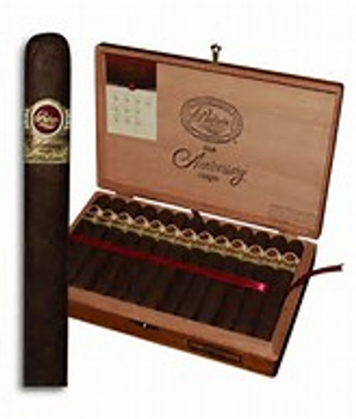 Padron 1964 Anniversary Maduro Imperial Single Cigar  Made in Nicaragua by a highly-respected cigar family with a fine Cuban heritage. The Padron 1964 Anniversary Maduro Imperial is one of the most exquisite tasting and all-around 'awesome' full-bodied cigars you'll ever smoke. Much richer and sweeter than the 1964 Natural, the Maduro presents a complex tapestry of flavors with traces of coffee bean, cocoa, and hazelnut. Handmade with 4-year-aged all-Nicaraguan tobaccos, these rare, box-pressed premiums are some of the world's most highly-rated and memorable cigars. A MUST-SMOKE! Full Specifications Strength:Full Shape:Toro Size:6 x 54 Country:Nicaragua Color:Maduro Wrapper Origin:Nicaraguan Wrapper Leaf:Habano