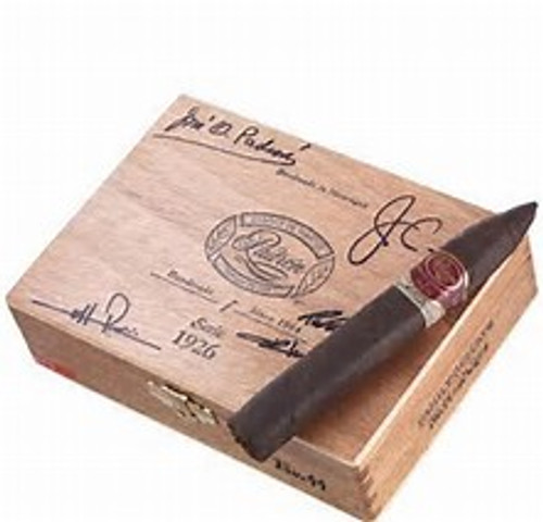 "Padron Family Reserve #44 is a limited production cigar from Padron. Available in a Maduro wrapper, this cigar is made with tobacco aged for 10 years. Box-pressed, full bodied, and 52 x 6"" in size.    Single Cigar  Cigar Profile MILD   FULL Strength: Wrapper: Size: Origin: Full Maduro Torpedo (6 1/4"" x 52) Nicaragua"