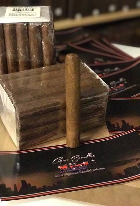 Bundles of 20   A smooth Handmade Traditional Cuban Style mild to medium cigar. A nice Cameroon  wrapper and Nicaraguan binders and fillers, making this cigar one of the finest. This crafted Cigar boasts a mild to medium bodied flavor of vanilla-like sweetness with a smooth creamy richness.