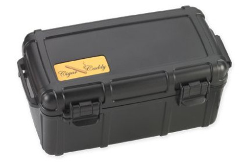 Cigar Caddy 15 stick #3540 Black PP