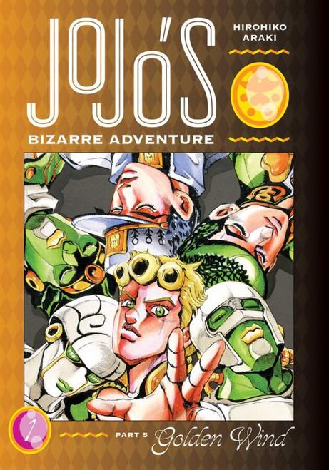 Manga: JoJo's Bizarre Adventure Part 5: Golden Wind 01 (Hardcover)