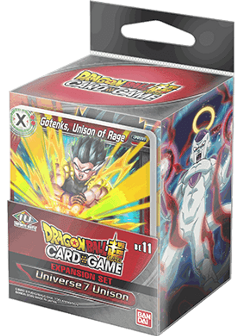 TCG: Dragon Ball Super - Expansion Set 11: Universe 7 Unison