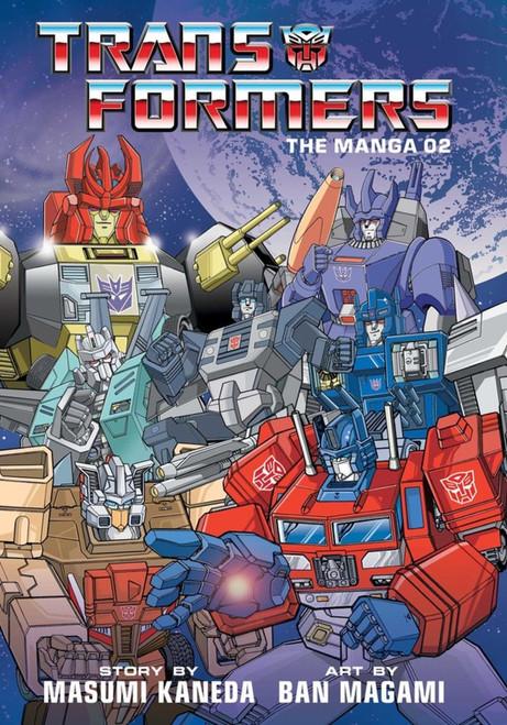 Manga: Transformers 02 (Hardcover)