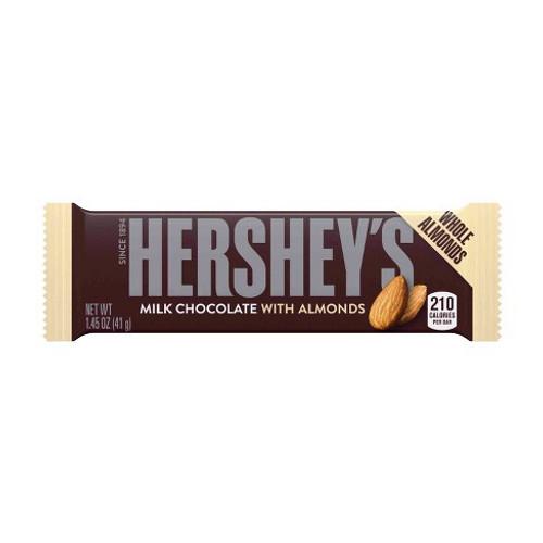 Candy Bar: Hershey's - Milk Chocolate with Almonds