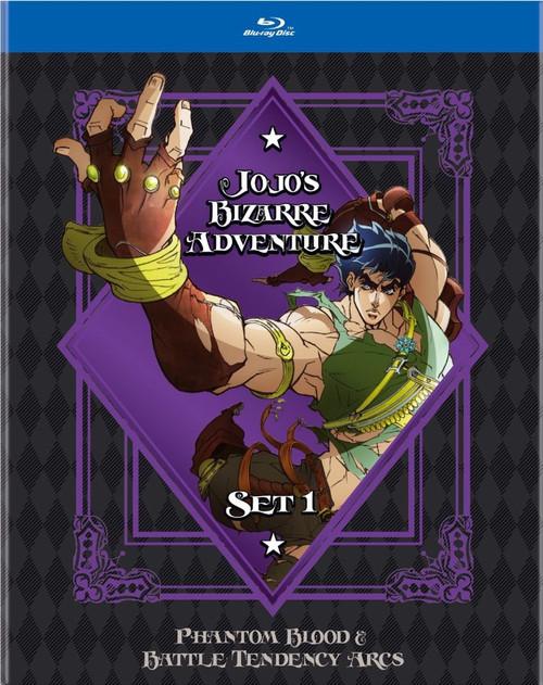 Jojo's Bizarre Adventure Blu-ray Set 1