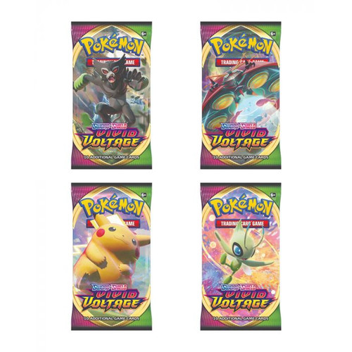 TCG: Pokemon - Booster Pack 86: Sword and Shield Vivid Voltage