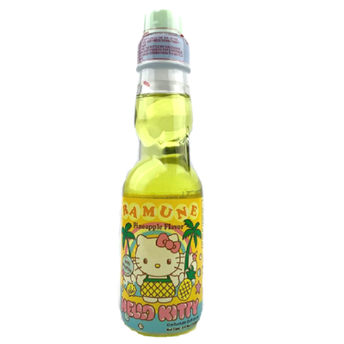 Ramune Soda: Pineapple - Hello Kitty