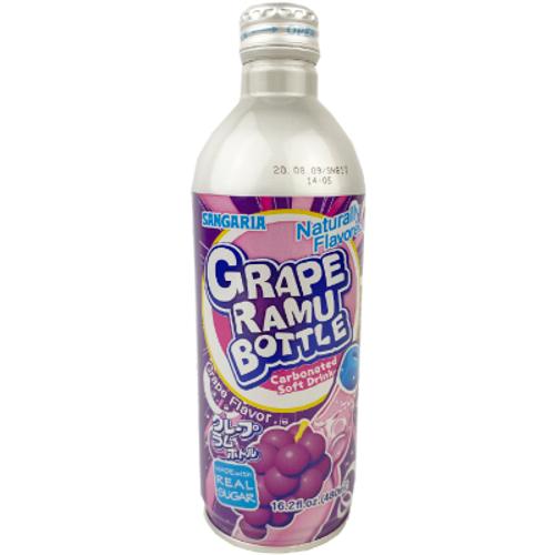 Ramune Soda Can: Grape