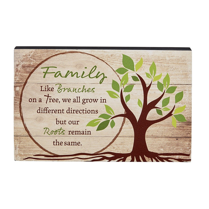 8 In Box Sign - Family F1845