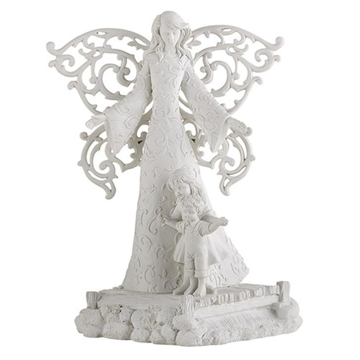 Cielo 8.5 In Guardian Angel Statue D1009