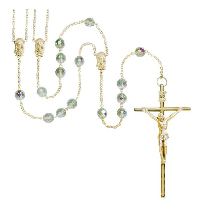 Crystal Lasso Rosary GP110CR1E