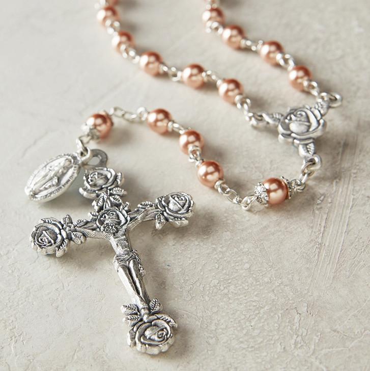 Swarovski Rose Rosary SO22RGD