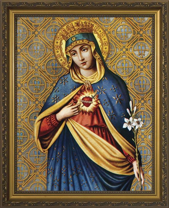 Immaculate Heart III Framed Art NW-1406C1