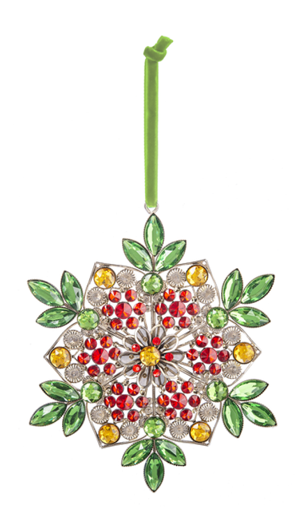 Holiday Floral Ornament