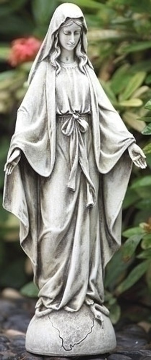 14IN H OUR LADY OF GRACE GARDEN 63667