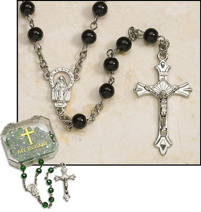 Black Rosary ND324S