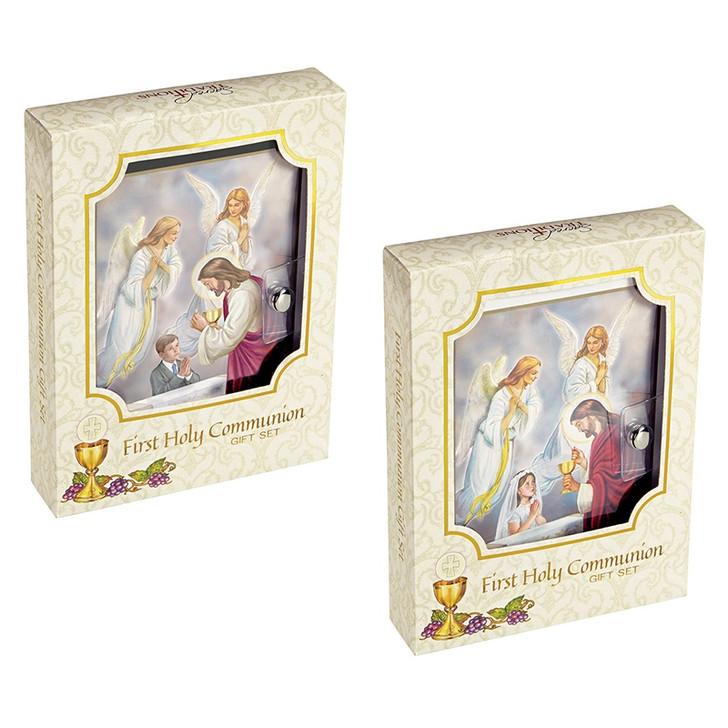 Blessed Sacraments First Communion Wallet Set