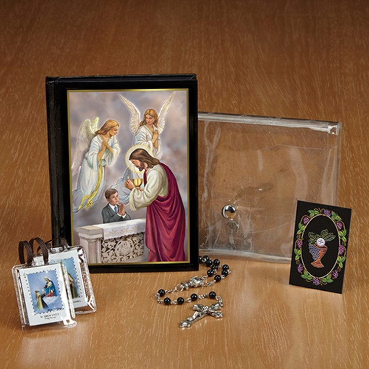 Blessed Sacraments First Communion Wallet Set Boy YS888A