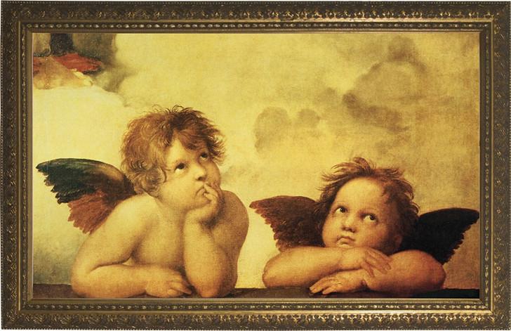Sistine Madonna Angels Framed Art NW-134_2