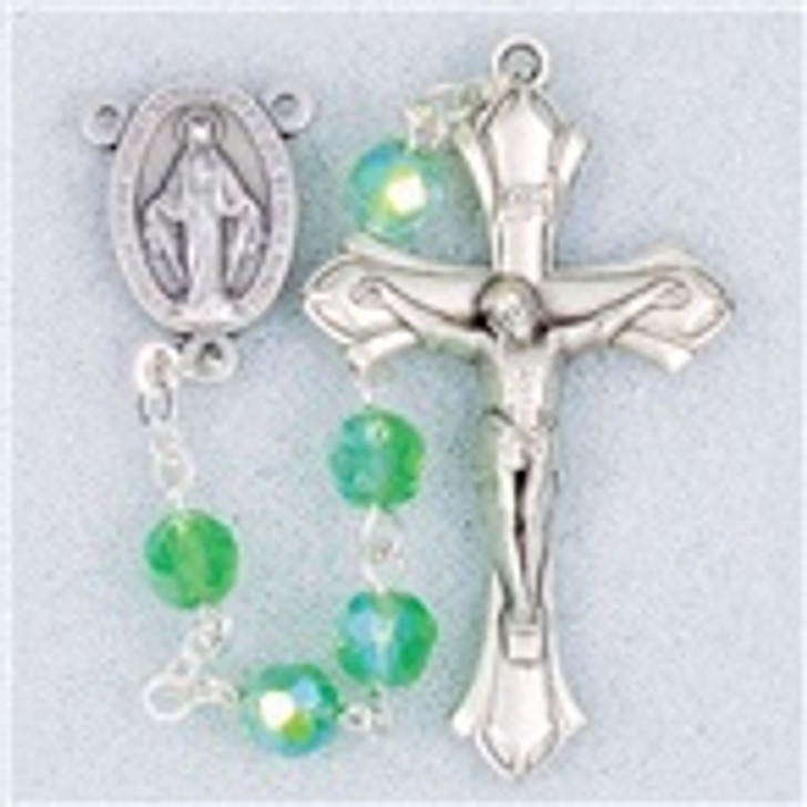 AUGUST-DELUXE BIRTHDAY ROSARY H245AUG