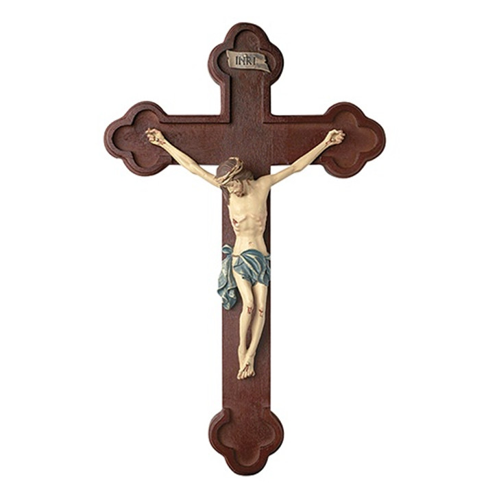 "10"" Tomaso Budded Crucifix HS099"