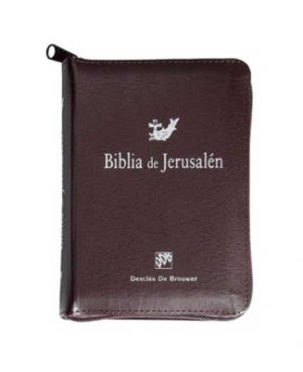 Biblia de Jerusalen Manual con funda cremallera