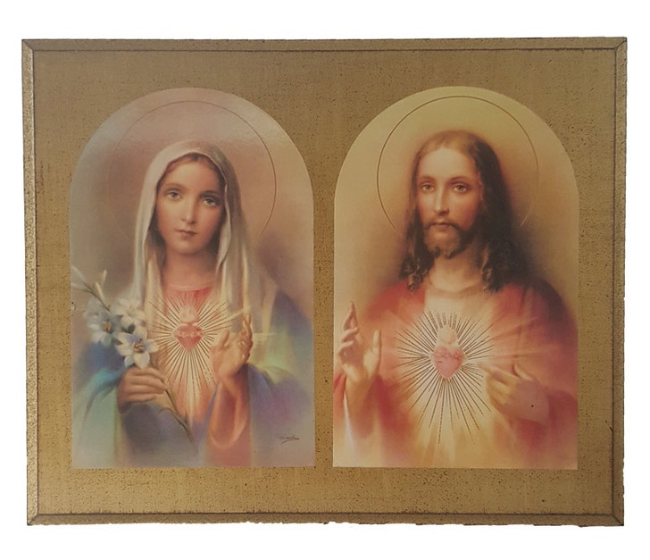 Sacred Heart of Jesus and Immaculate Heart of Mary L-6723