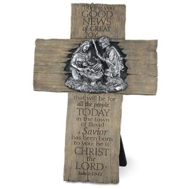 Good News of Great Joy, Nativity Cross
