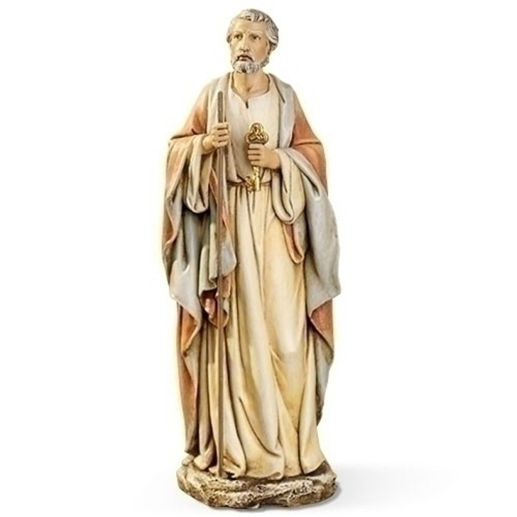 "10.5""H ST PETER W/KEYS FIGURE 62992"
